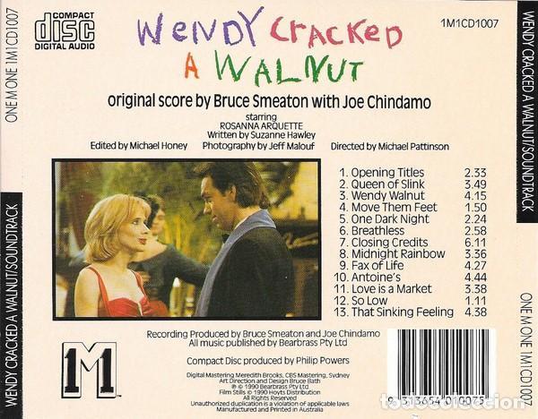 CDs de Música: WENDY CRACKED A WALNUT / Bruce Smeaton CD BSO - Foto 2 - 195440718