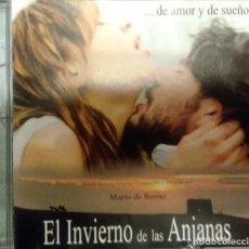 CDs de Música: EL INVIERNO DE LAS ANJANAS / MARIO DE BENITO CD BSO - PROMO. Lote 195440841