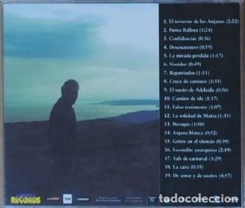 CDs de Música: EL INVIERNO DE LAS ANJANAS / Mario de Benito CD BSO - PROMO - Foto 2 - 195440841