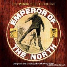 CDs de Música: EMPEROR OF THE NORTH + CAPRICE / FRANK DEVOL CD BSO - INTRADA. Lote 195440916