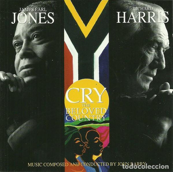 CRY THE BELOVED COUNTRY / JOHN BARRY CD BSO (Música - CD's Bandas Sonoras)