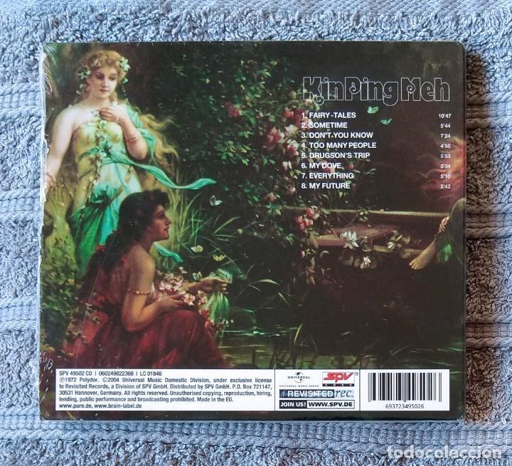 CDs de Música: KIN PING MEH - KIN PING MEH CD DIGIPAK NUEVO Y PRECINTADO - ROCK PROGRESIVO HARD ROCK KRAUTROCK - Foto 2 - 195441540