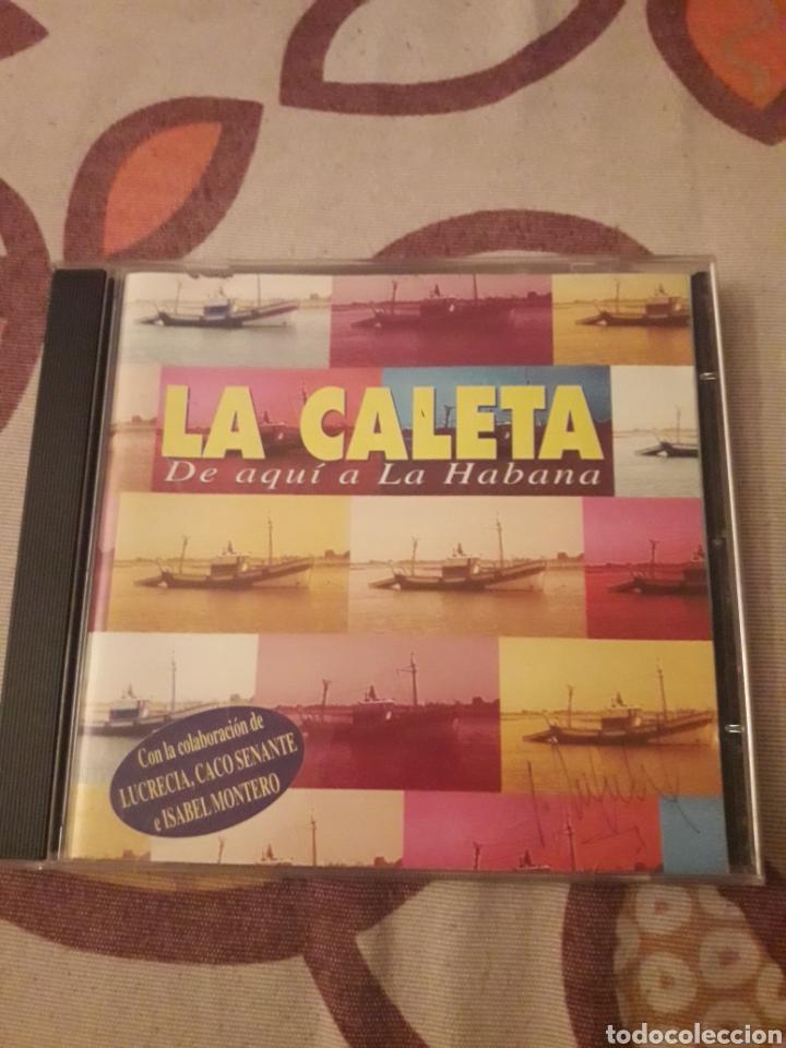 LA CALETA. DE AQUÍ A LA HABANA. EDICION DE 1997. (Música - CD's Latina)