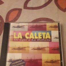 CDs de Música: LA CALETA. DE AQUÍ A LA HABANA. EDICION DE 1997.. Lote 195445272