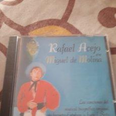 CDs de Música: RAFAEL ACEJO EN MIGUEL DE MOLINA. MUSICAL BIOGRÁFICO.. Lote 195447136
