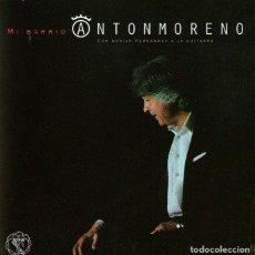 CDs de Música: ANTÓN MORENO - MI BARRIO (SANTA CRUZ DE ALICANTE) - CD ALBUM - 9 TRACKS - FACTORIA JULI & CIA 2018. Lote 195448662