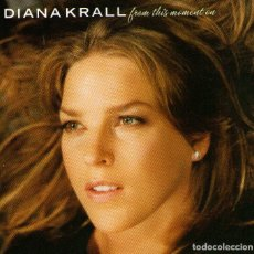 CDs de Música: DIANA KRALL - FROM THIS MOMENT ON - CD ALBUM - 11 TRACKS - THE VERVE MUSIC - AÑO 2006. Lote 195448790