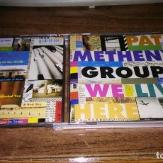 CDs de Música: PAT METHENY GROUP - WE LIVE HERE. Lote 195449636