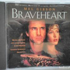 CDs de Música: BSO BRAVE HEART. Lote 195449781