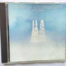 CDs de Música: ANDREAS VOLLENWIDER WHITE WINDS. Lote 195450471