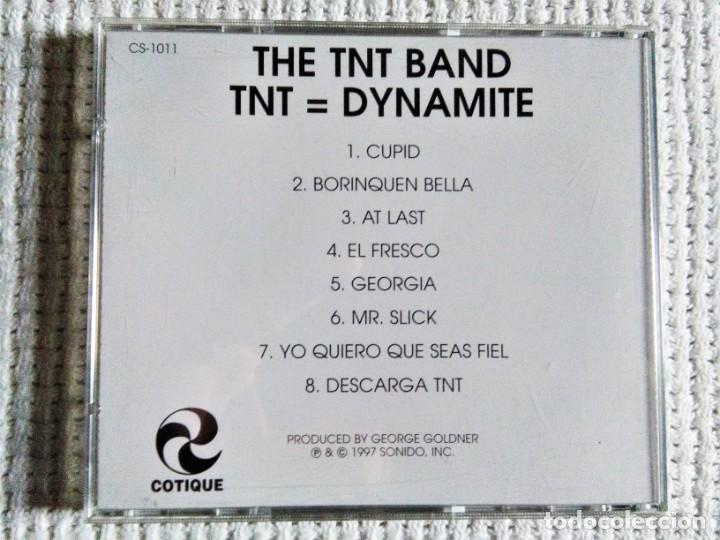 CDs de Música: THE TNT BAND - TNT=DYNAMITE CD 1997 USA - Foto 3 - 195451617