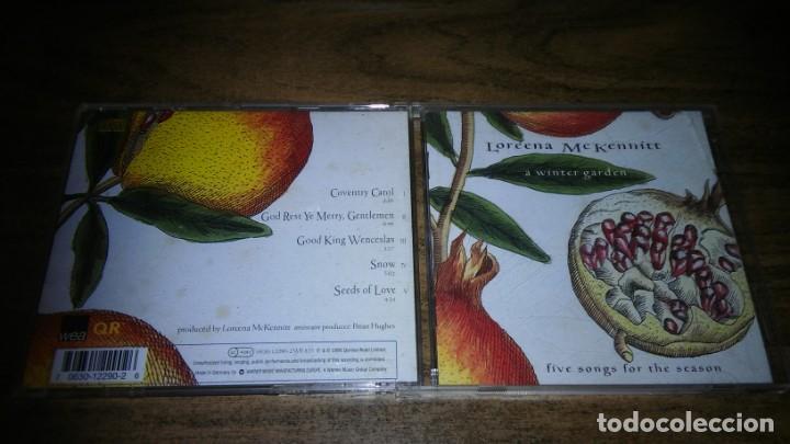 LOREENA MCKENNITT - A WINTER GARDEN. FIVE SONGS FOR THE SEASON (Música - CD's New age)