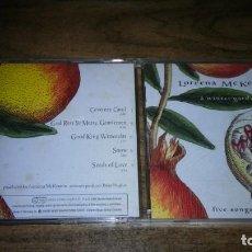CDs de Música: LOREENA MCKENNITT - A WINTER GARDEN. FIVE SONGS FOR THE SEASON. Lote 195452030