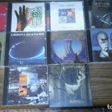 CDs de Música: ROCK PROGRESIVO - LOTE DE 10 CDS DE MARILLION, YES, PORCUPINE TREE, EL&PALMER, PINK FLOYD... Lote 195455416