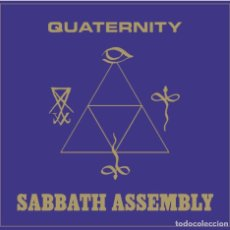 CDs de Música: SABBATH ASSEMBLY - QUATERNITY - CD DIGISLEEVE [SVART RECORDS, 2014]. Lote 195455728