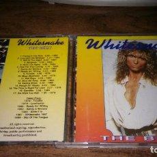 CDs de Música: WHITESNAKE - THE BEST (UNISON RECORDS 1992. Lote 195456945