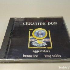 CDs de Música: 0220- CREATION DUB & KING TUBBY & THE AGGROVATORS CD (DISCO NUEVO) LIQUIDACIÓN!!. Lote 195466765