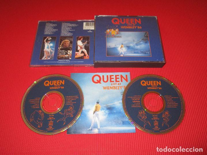 QUEEN ( LIVE AT WEMBLEY'86 ) - 2 CD - 0777 7 99594 2 6 - PARLOPHONE - IMPROMPTU - TUTTI FRUTTI ... segunda mano