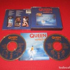 CDs de Música: QUEEN ( LIVE AT WEMBLEY'86 ) - 2 CD - 0777 7 99594 2 6 - PARLOPHONE - IMPROMPTU - TUTTI FRUTTI .... Lote 195467013