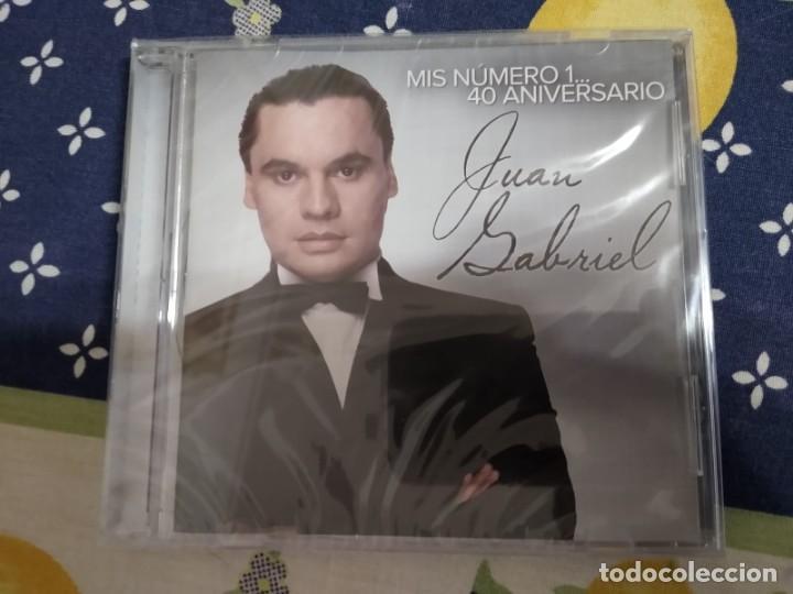 JUAN GABRIEL CD 40 ANIVERSARIO -CERRADO DE FABRICA IMPORTADO ARGENTINA (Música - CD's Latina)
