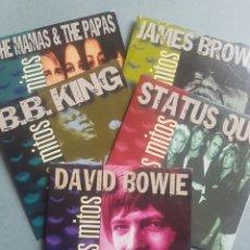 CDs de Música: 5 CD. DAVID BOWIE STATUS QUO B. B. KING JAMES BROWN THE MAMÁS & THE PAPAS GRANDES ÉXITOS. Lote 195477915