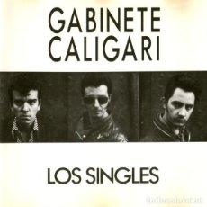CDs de Música: GABINETE CALIGARI - LOS SINGLES CD 1988 RARA PRIMERA EDICION 3 CIPRESES - 9C-219 POST PUNK GOTH -R. Lote 195484726