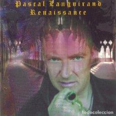CDs de Música: PASCAL LANGUIRAND - RENAISSANCE CD 2002 NEURONIUM RECORDS -SYNTH POP EXPERIMENTAL. Lote 195488516