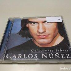 CDs de Música: 0220-CARLOS NUÑEZ OS AMORES LIBRES CD ( DISCO NUEVO) LIQUIDACIÓN !!. Lote 195493026