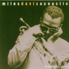 CDs de Música: MILES DAVIS ACOUSTIC - THIS IS JAZZ - CD. Lote 195495096