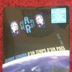 CDs de Música: JOAN MANUEL SERRAT (D'UN TEMPS D'UN PAIS) 2 CD'S + DVD EDICIÓN 50 ANIVERSARIO DE LA NOVA CANÇO. Lote 195495440