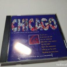CDs de Música: CD - MUSICA - CHICAGO – LA MEJOR MÚSICA DE ESTE MUNDO. Lote 195501462