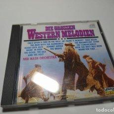 CDs de Música: CD - MUSICA - NED NASH ORCHESTRA – DIE GROSSEN WESTERN MELODIEN ( GRANDES MELODIAS DEL WESTERN). Lote 195501636