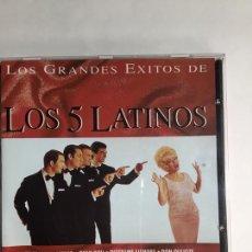 CDs de Música: CD LOS GRANDES ÉXITOS DE LOS 5 LATINOS -TU ERES MI DESTINO -ONLY YOU. ETC.. Lote 195503108