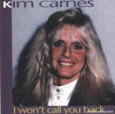 CDs de Música: KIM CARNES,I WON´T CALL YOU BACK EDICION ALEMANA CD PIRATA. Lote 195507280