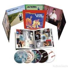 CDs de Música: EL ULTIMO DE LA FILA: HISTORIA DE UNA BANDA PACK/BOX SET CAJA DE 5CDS NUEVO Y PRECINTADO. Lote 195510003