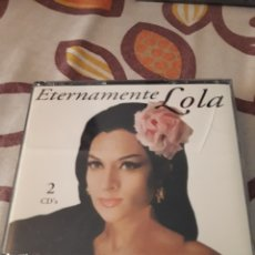 CDs de Música: PACK DE 2 CDS DE LOLA FLORES. ETERNAMENTE LOLA. EDICION DIVUCSA DE 1995. Lote 195528643
