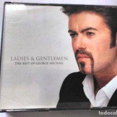 CDs de Música: THE BEST OF GEORGE MICHAEL LADIES & GENTLEMEN CD DOBLE. Lote 195530130