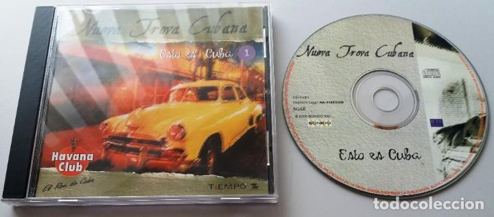 NUEVA TROVA CUBANA / ESTO ES CUBA 1 / CD (Música - CD's Latina)