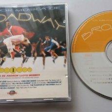CDs de Música: LA MEJOR MUSICA DE BROADWAY 1 / LA MUSICA DE ANDREW LLOYD WEBBER / CD. Lote 195533060