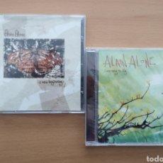 CDs de Música: LOTE 2 CD ALAIN ALONE - ALAIN HERNAEZ - GROWING. Lote 195537098