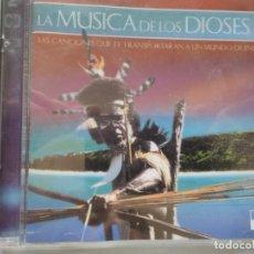 CDs de Música: LA MUSICA DE LOS DIOSES CD DOBLE. Lote 195538590