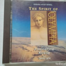 CDs de Música: DAVID ARKENSTONE KOSTIA THE SPIRIT OF OLYMPIA. Lote 195538940