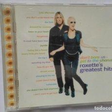 CDs de Música: ROXETT GREATEST HITS. Lote 195540475