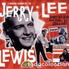 CDs de Música: JERRY LEE LEWIS - JERRY LEE LEWIS PLUS JERRY LEE'S GREATEST (CD, ALBUM, COMP, MOD) LABEL:CHARLY REC. Lote 195551485