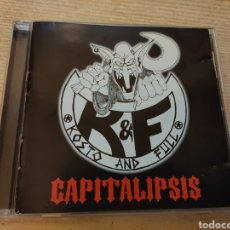 CDs de Música: KOSTO & FULL - CAPITALIPSIS CD PROMOCIONAL 1999 SPAIN HEAVY METAL HARDCORE THRASH UNICORNIO RECORDS. Lote 195561573