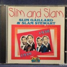CD di Musica: SLIM GAILLARD & SLAM STEWART - SLIM & SLAM 1939-1938 - CD . Lote 195565632