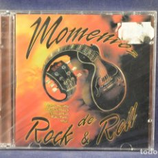 CDs de Música: VARIOUS ARTIST - MOMENTOS DEL ROCK AND ROLL - 2 CD . Lote 195569545