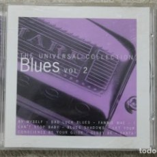 CDs de Música: CD THE UNIVERSAL COLLECTION BLUES VOL 2. Lote 195606037