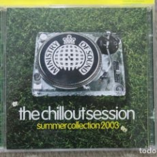CDs de Música: CD THE CHILLOUT SESSION SUMMER COLLECTION 2003 DOBLE CD. Lote 195607892