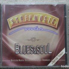 CDs de Música: CD SUPERMUSIC MAS BLUES & SOUL. Lote 195608183